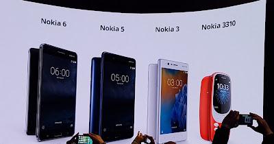 mobi tecno Nokia 3 5 6 3310