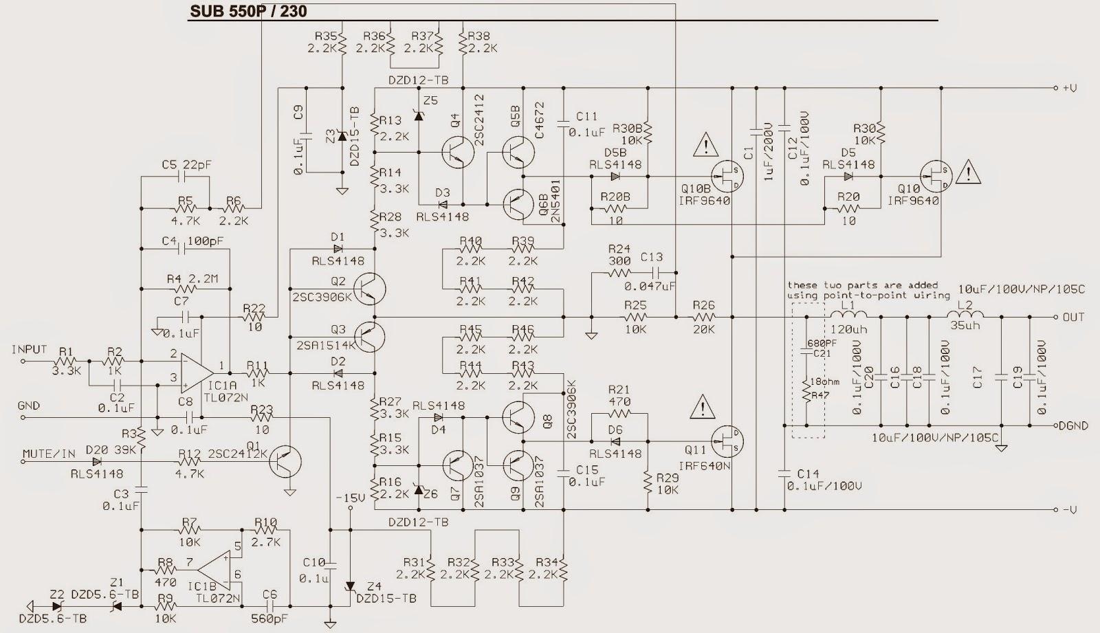 Sub550p Jbl Amplifier Sub Woofer