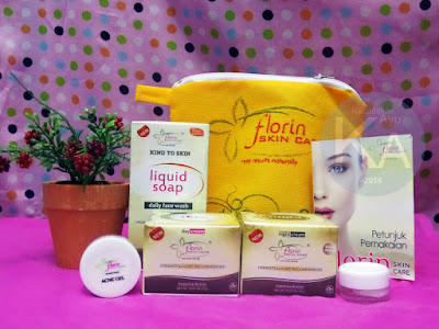 Paket Acne Gel Florin Skin Care