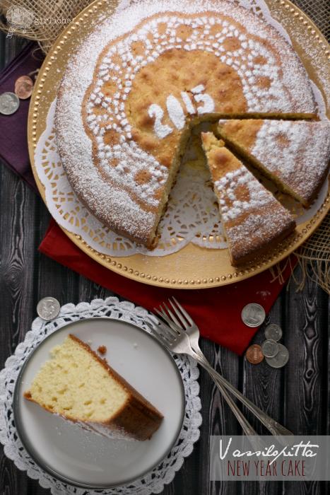 Vassilopitta (New Year Wish Cake)