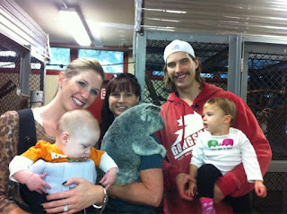 Brent Burns' family