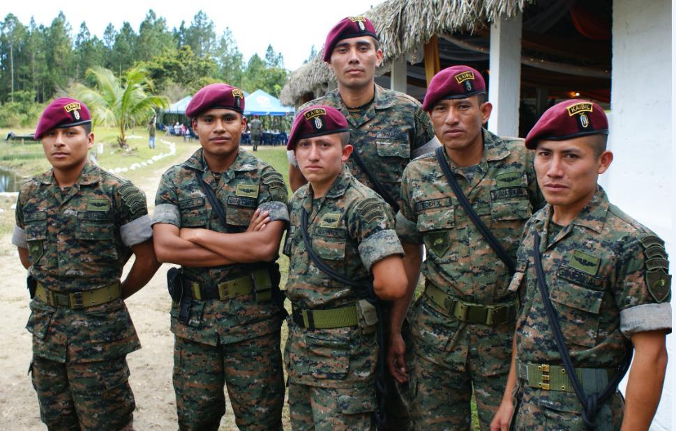 3b6c76219c7ba Perspectiva Militar  El generalato y la mística Kaibil