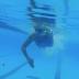 Sesión técnica de natación triatletas ZDM. Estilo libre crol triatlon