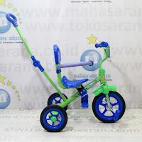green tongkat sandaran bmx sepeda anak
