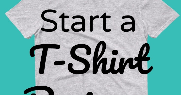 Sunshine And Spoons How To Start An Online T Shirt