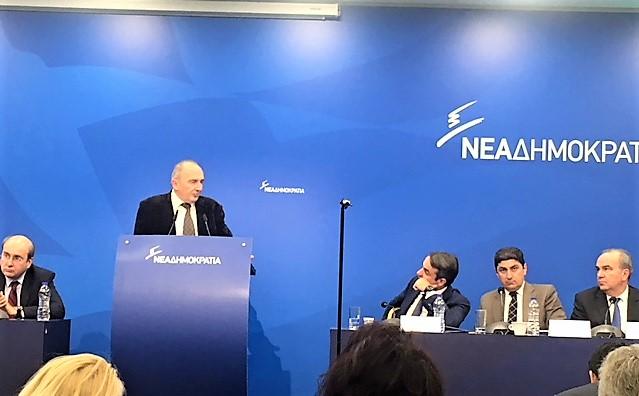 Ομιλία του Δημήτρη Κρανία στην Πολιτική Επιτροπή της Νέας Δημοκρατίας