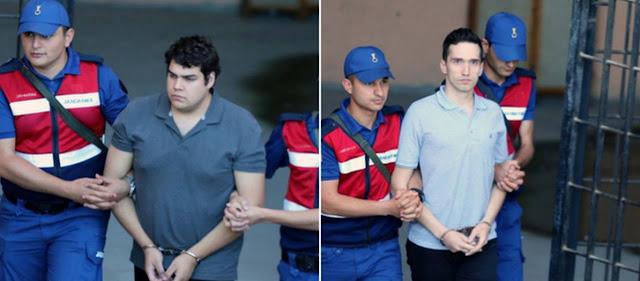 ΕΚΤΑΚΤΟ: Αποφυλακίστηκαν και επιστρέφουν στην Ελλάδα οι 2 στρατιωτικοί