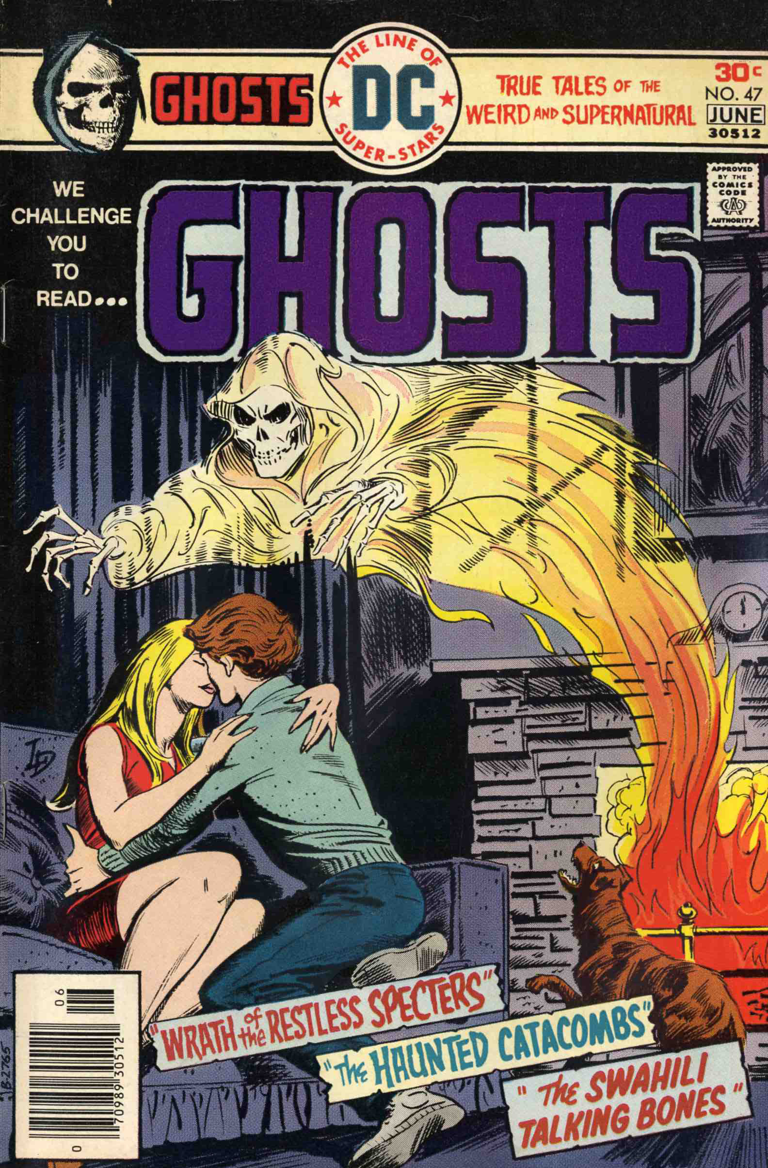 Read online Ghosts comic -  Issue #47 - 1