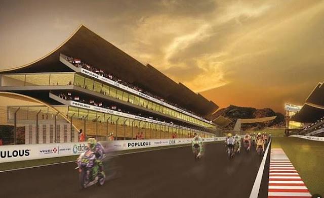 8 Desain Wajah Sirkuit Mandalika NTB Tempat Digelarnya MotoGP 202