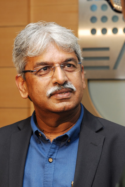 Arvind Kumar, CEO - TRRINGO, Mahindra & Mahindra Ltd  at the Media Round Table in Bangalore on Thursday