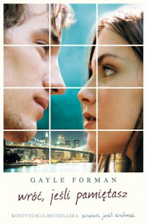"""""""Wróć, jeśli pamiętasz""""  Galye Forman"""