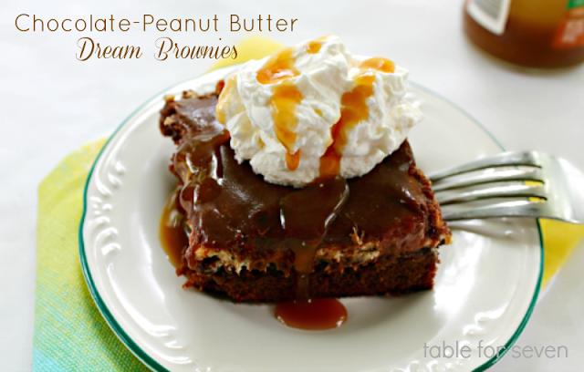 Chocolate-Peanut Butter Dream Brownies
