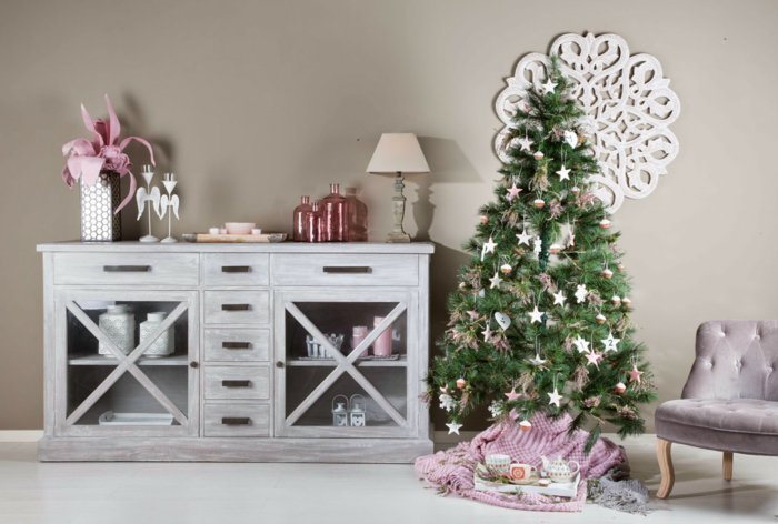 Christmas Sideboard decorate - 20 chic decor ideas for your ...