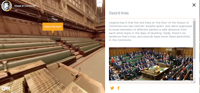 A Fantastic Virtual Tour of the Houses of Parliament