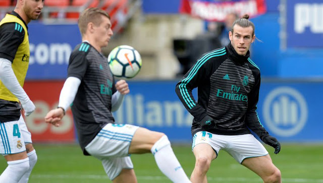 Real Madrid: Kroos comment a Bale Twitte!