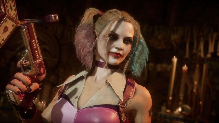 Cassie Cage, Harley Quinn, Mortal Kombat 11, 4K, #7.1298
