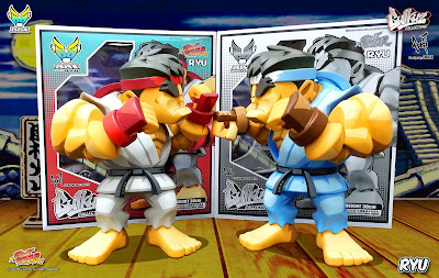 Bulkyz Collection Street Fighter Ryu Vinyl Figure by Big Boys Toys x CAPCOM