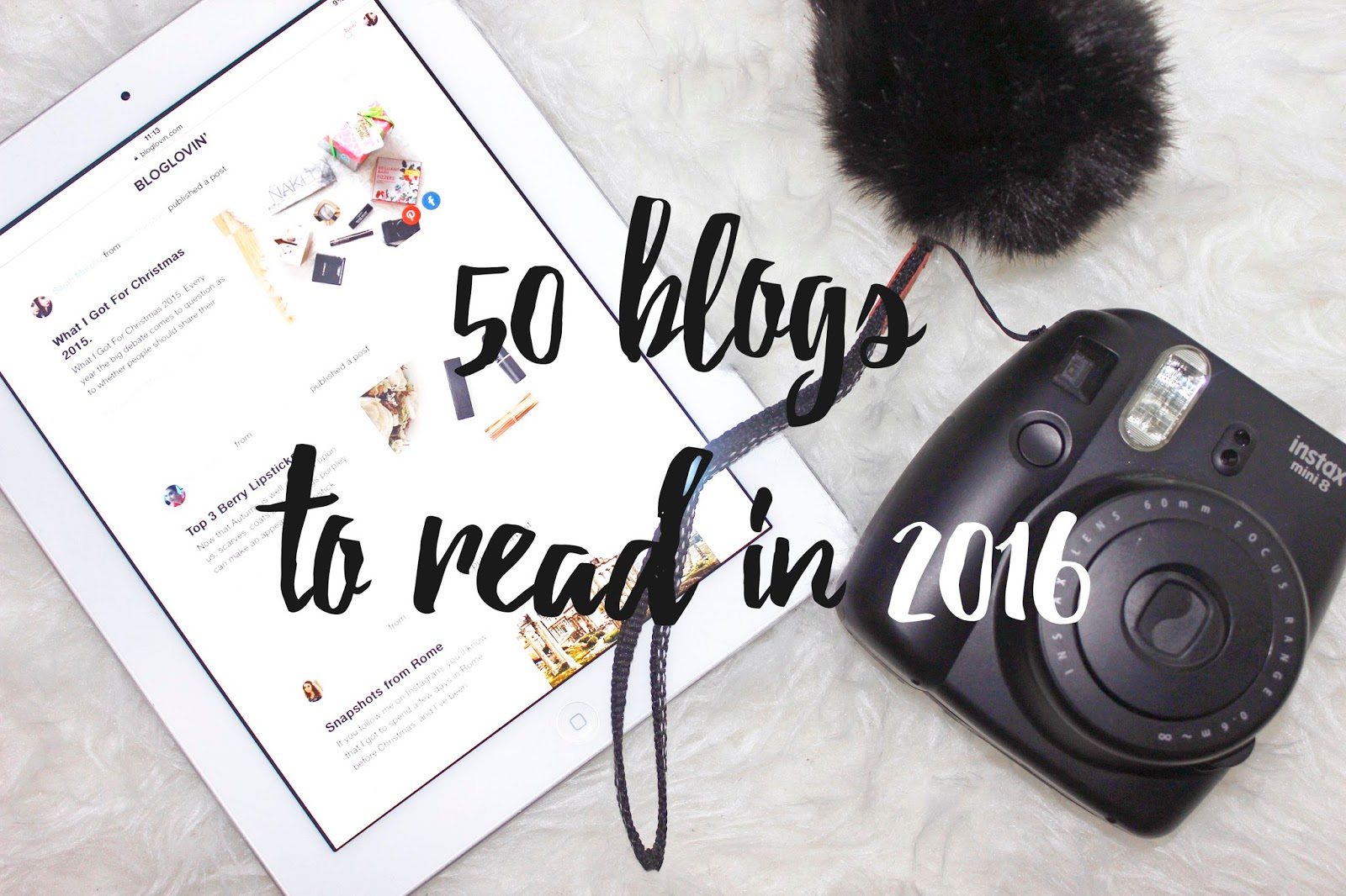 See The Stars - 50 blogs to read in 2016