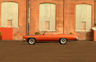 1975 Buick LeSabre Convertible Side Left