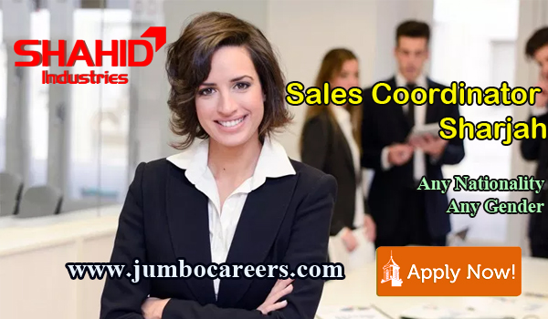 Available jobs in Sharjah, Recent job vacancies in Middle East,