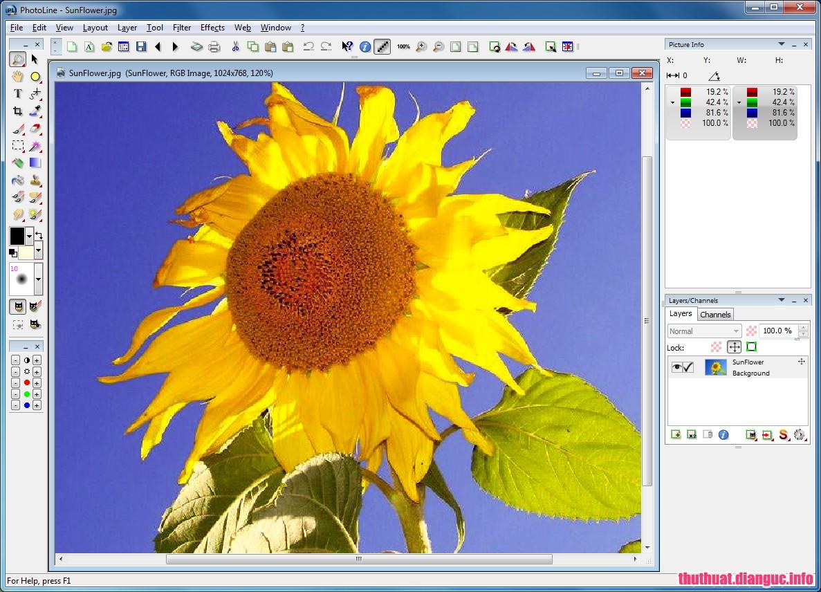 Download PhotoLine 21.00 Full Cr@ck – Phần mềm chỉnh sửa ảnh kỹ thuật số