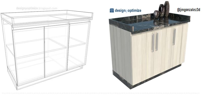 Diseño De Muebles Madera: Planos Para Fabricar Mueble Bajo ...