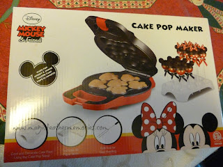 Mickey Mouse Cake Pop Pan