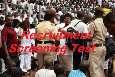 Nigeria Immigration Service Screening Aptitude Test