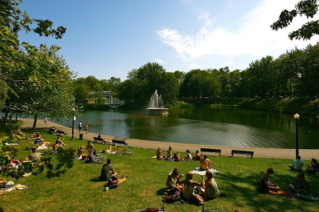 La Fontaine Park em Montreal