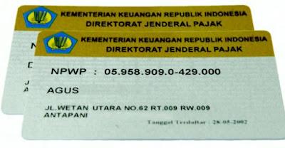 Tempat terdaftar NPWP