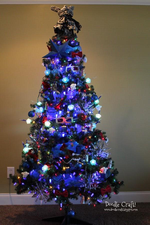Doctor Who Inspired Christmas Tree