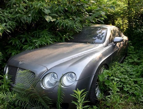 See Exotic Cars Hidden In Bush Over Fear of Buhari, EFCC