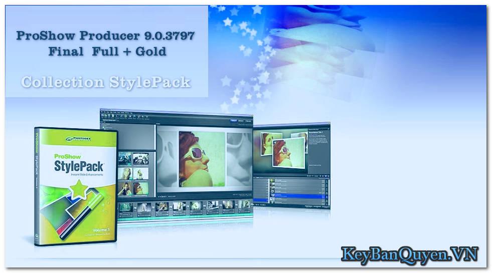 Photodex ProShow Producer 9.0.3797 Final  Full + Gold + StylePack , Phần mềm lồng ghé hình ảnh và nhạc với nhiều hiệu ứng.