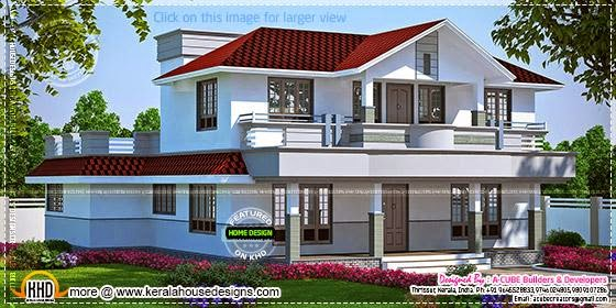 Kerala Home Design And Floor Plans Beautiful Home In
