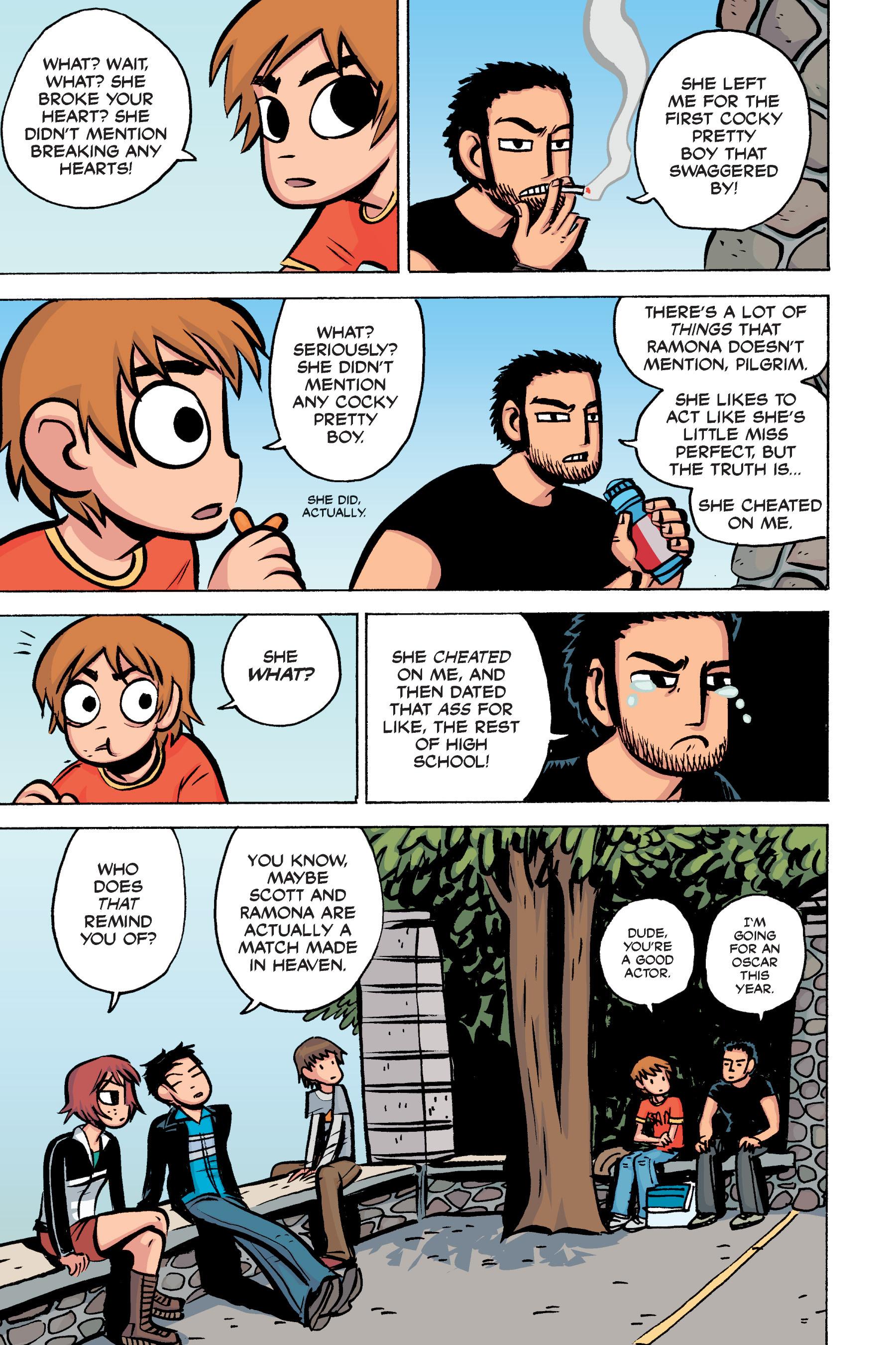 Read online Scott Pilgrim comic -  Issue #2 - 114