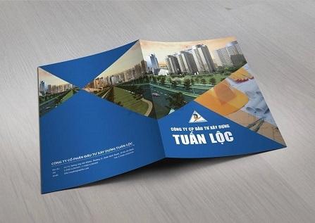 mẫu bìa hồ sơ năng lực công ty xây dựng Tuấn Lộc