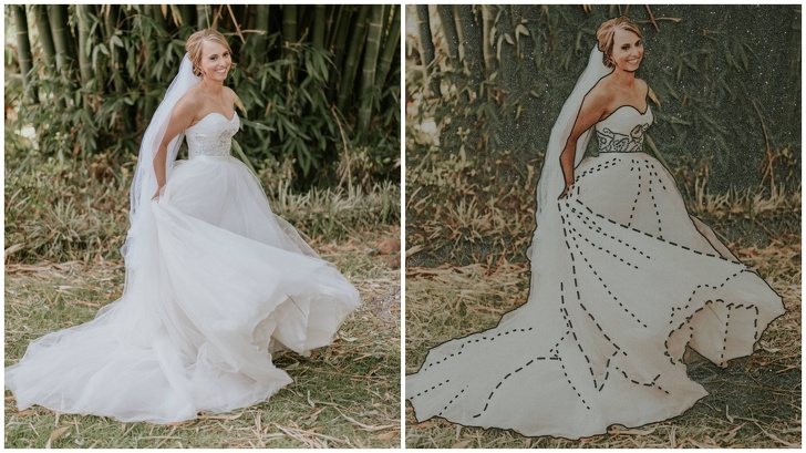 A Photographer Found A Brilliant, Extraordinary Way So That A Blind Bride Could 'See' Her Wedding Pictures