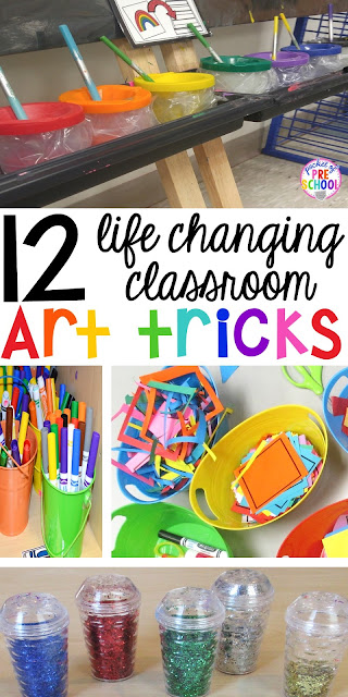 Keep these art classroom tips at the ready by pinning this to a Pinterest board.