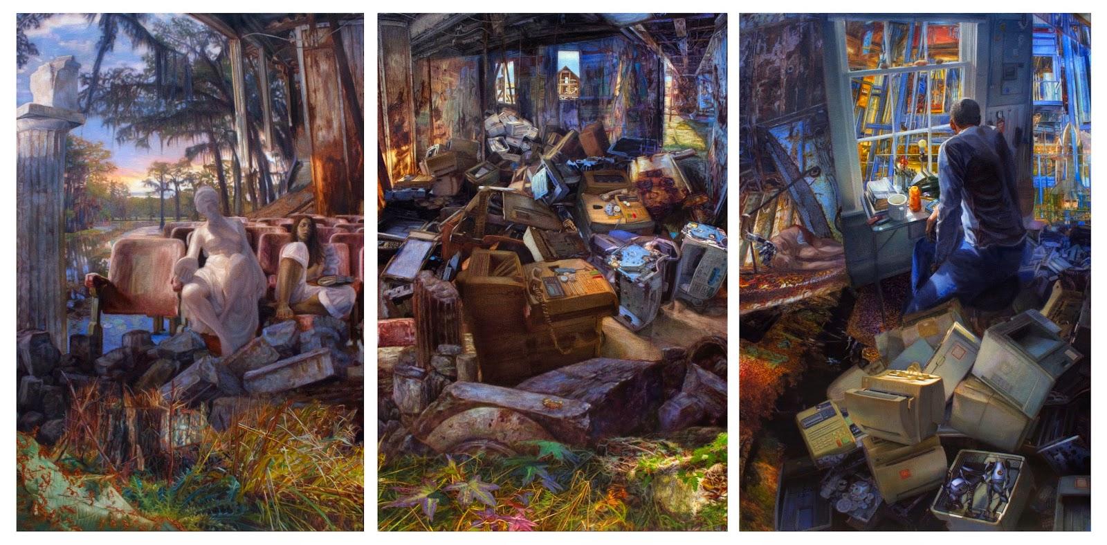 Savannah Georgia contemporary Painter