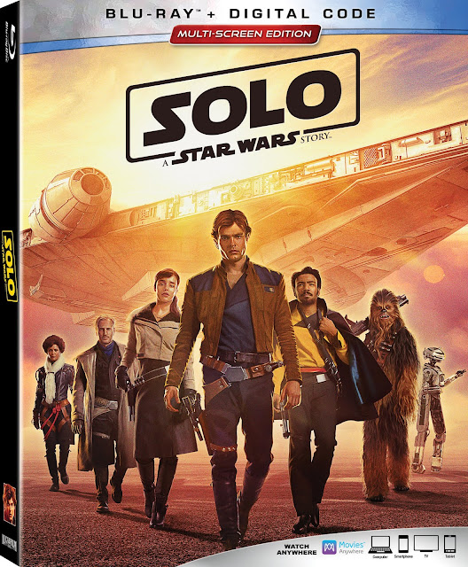 solo: a star wars story blu-ray box art