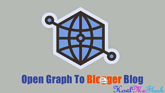 Add Facebook Open Graph To Blogger