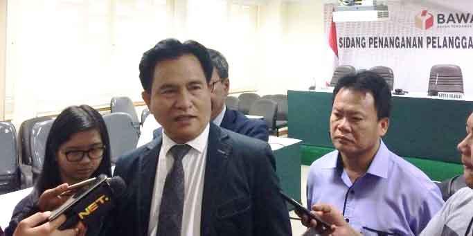 Prof Yusril: Masa gara-gara 6 Orang Terlambat ke KPU, PBB Tak Bisa Ikut Pemilu?
