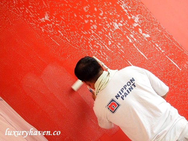 nippon paint study room anti-fungus coat