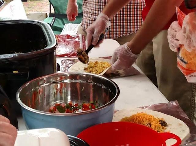 Kiwanis Breakfast Burrito Sale at Metamora Farmers Market Saturday, Metamora Herald