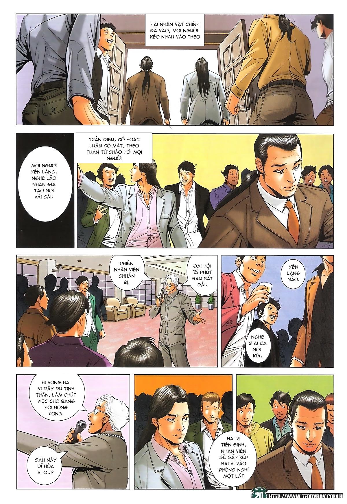 Người Trong Giang Hồ - Ngũ Hổ qui thiên - Chapter 1715: Đàm phán siêu cấp - Pic 16
