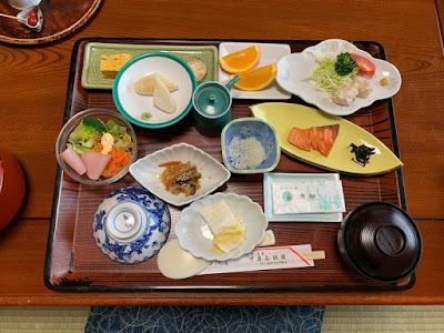 中藤屋旅館 朝食