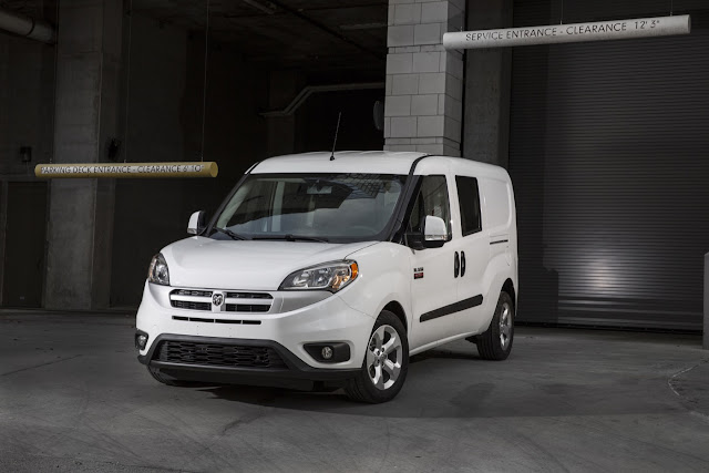 2017 Ram ProMaster City white