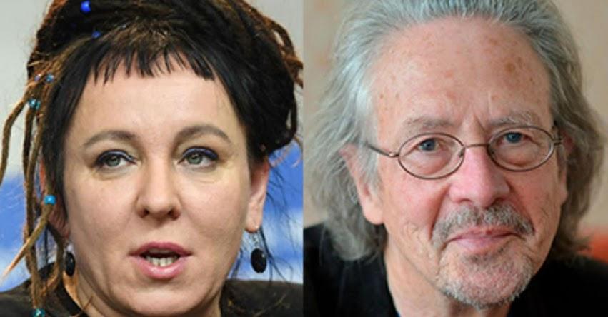 Premio Nobel de Literatura 2018 y 2019 ganan Olga Tokarczuk y Peter Handke