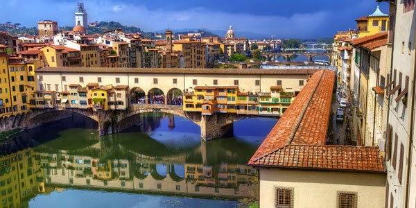 3. पोंटे वेक्चिओ, फ्लोरेंस ( Ponte Vecchio, Florence, Italy)