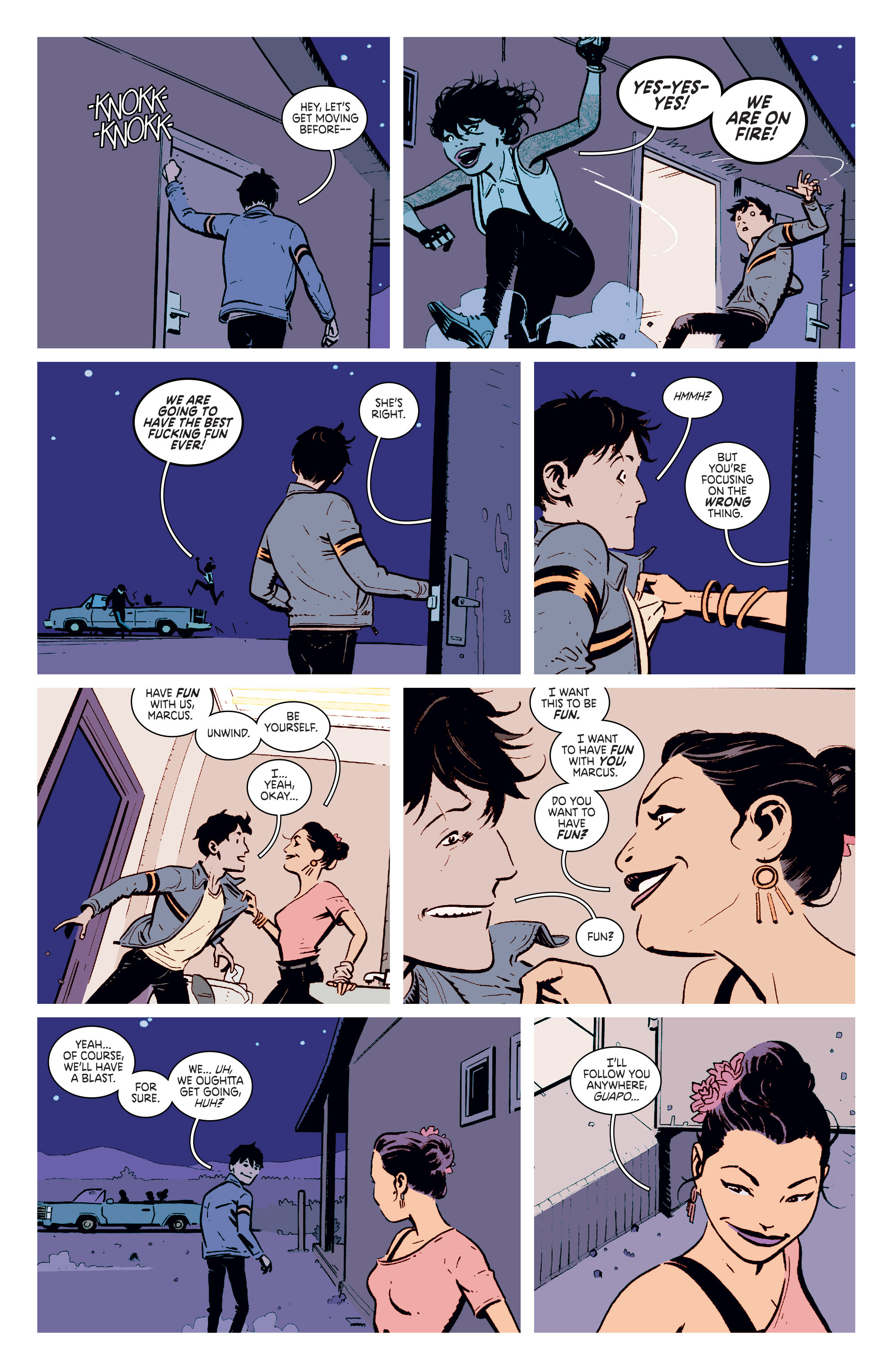 Read online Deadly Class comic -  Issue #4 - 10